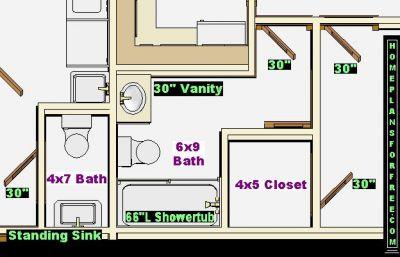 4 x 7 bathroom layout 28 images three quarter bath for 6x9 bathroom ideas