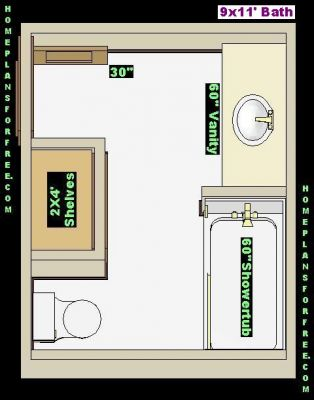 free bathroom plan design ideas bathroom design 9x11