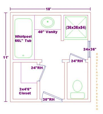 free bathroom plan design ideas bathroom design 10x11