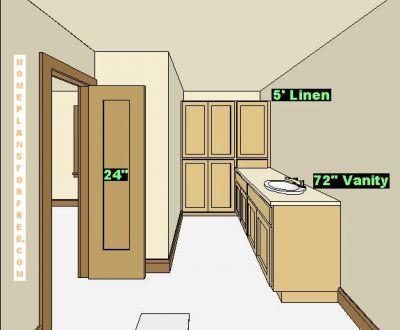 free bathroom plan design ideas - bathroom design 8x14