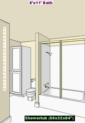 Click to view full size image for Normal bathroom ideas