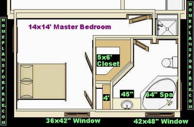 Bathroom design minimalist style home decorating for 12x16 master bedroom