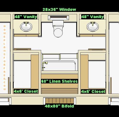 Bathroom Plans on Bathroom Plan Design Ideas   Jack And Jill 12x14 Bathroom Design Ideas