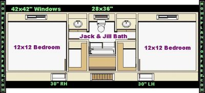bathroom designs jack and jill - Bathroom Designs Jack And Jill