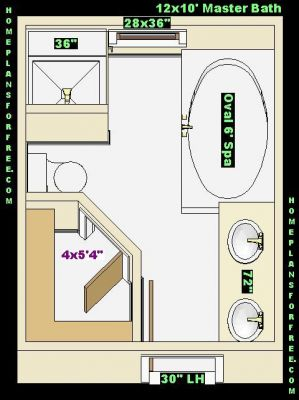 A 4x5 bathroom design popular house plans and design ideas Bathroom blueprints for 8x10 space