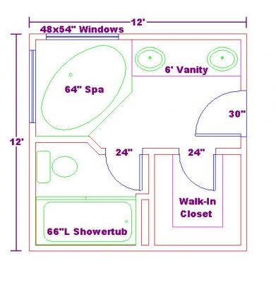 August 2014 nanda - Master bathroom design layout ...