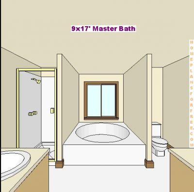 Free bathroom plan design ideas master bathroom design for Bathroom designs normal