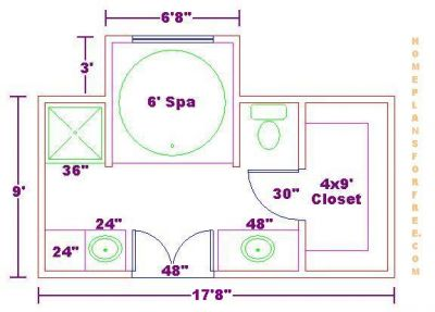 Bathroom Plans on Free Bathroom Plan Design Ideas   Free Bathroom Floor Plans Free