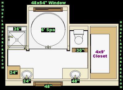 Ideas Master Bathroom Design 12x186 Size | Watch Best Movie Reviews