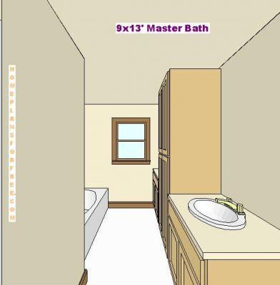 Click to view full size image for Bathroom designs 9 x 9