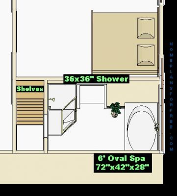 Free bathroom plan design ideas picture album of new for Bathroom designs 8 x 15