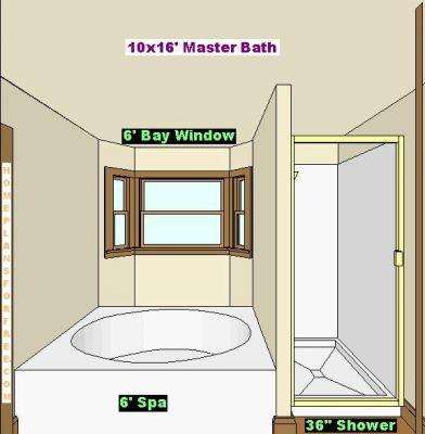 free bathroom plan design ideas - last additions/master