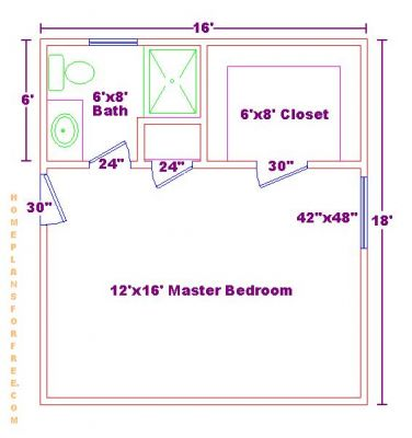 Free Bathroom Plan Design Ideas Small Master Bathroom