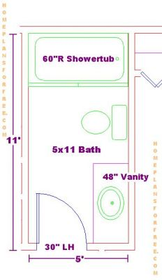 small 5x11 bathrooms floor plan ideas small bathrooms 5x11 floor plan