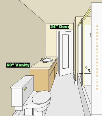 Free bathroom plan design ideas bathroom design 8x8 39 6 for Bathroom designs 6 x 8