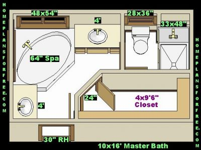 master bath 10x16 ideas layout with walk in closet free 10x16 master