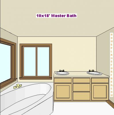 Free Bathroom Plan Design Ideas Master Bathroom Plans Master Bath 10x18 Des