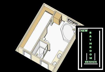 Designbathroom on Free Bathroom Plan Design Ideas   Bathroom Designs With Corner