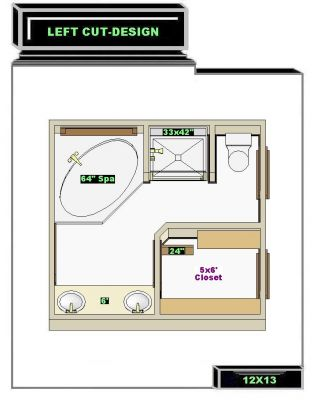 Free Bathroom Plan Design Ideas Master Bathroom Plans New 12x13 Master Bath