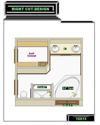 Free bathroom plan design ideas last additions free for Bathroom ideas for 5x6