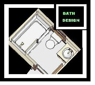 Your bath floor plan design gallery photos for Design your bathroom online free