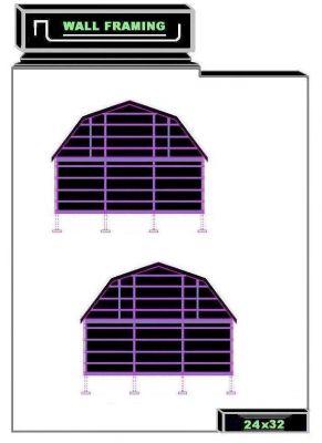 Nail blog guide 24x32 barn plans for 24x32 pole barn