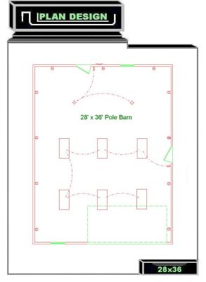 Garage plans 24 x 28 ksheda for 28x36 cabin plans