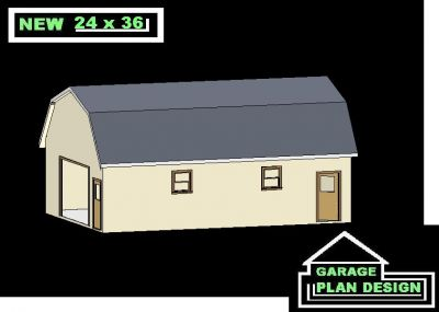 Free access 24 x 36 pole barn kit kanam for 24x36 garage cost
